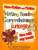 Writing/Reading Comprehension {All about TURKEYS} Research