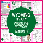 Wyoming History Lesson-Common Core-Audio Included!