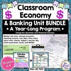 Classroom Economy, Banking Activities, Checking Writing Un