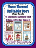 Syllable Sort Year Round Discounted Bundle of Center Games