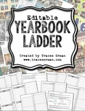 Yearbook Ladder Editable Template {16-page Signatures}