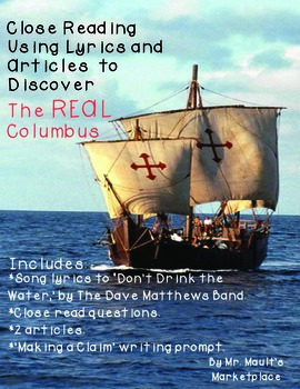 You Decide: Who Was the REAL Columbus? A Close Read Using