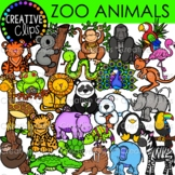 ZOO Animals {Creative Clips Digital Clipart}
