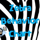 Zebra Behavior Management Posters