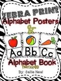 Zebra Print Alphabet Posters and Printables