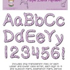 Zebra Purple Alphabet