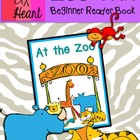 Zoo Animals: Beginner Reader Picture Book