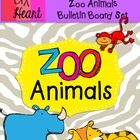 Zoo Animals Bulletin Board Set