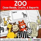 Zoo Close Reading & Writing Journals