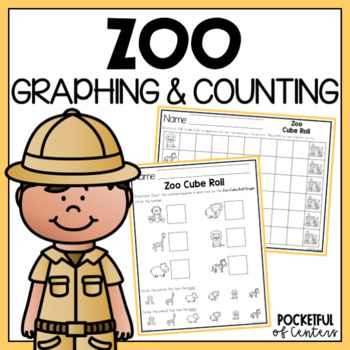 Zoo Cube Roll Math Game