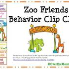 Zoo Friends Behavior Clip Chart