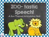 Zoo-Tastic Speech {A Zoo Themed Articulation Unit}