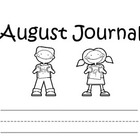 a whole year of journal templates for kindergarten!