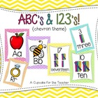 abc's and 123's! {chevron theme}