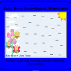 busy bees  theme smartboard ATTENDANCE file SMART board