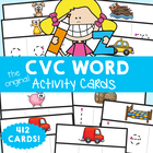 cvc Words Write and Wipe Cards - Print, Laminate, Write & Learn!