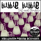double double, toil and trouble! A Halloween Matter activi