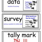 envision Grade 3 Topic 20 Vocabulary Word Wall Cards