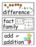envision Grade 3 Topic 3 Vocabulary Word Wall Cards