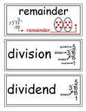 envision Grade 3 Topics 5-9 Vocabulary Word Wall Cards