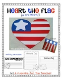heart the flag {a craftivity}