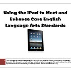 iPad Apps for the ELA Common Core Content Standards