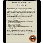 iPad Pinterest Template