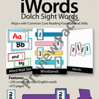 iWords - Dolch Sight Words {High Frequency} [Preview] (Ali