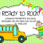 let's ROCK this year! {Classroom management, brain breaks,