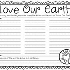 love our earth {free printables}