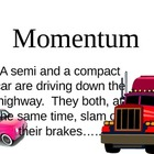 momentum law of conservation of momentum presenation
