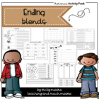 Ending blends ( consonant ) /nd/ /ng/ /nk/