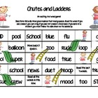 /oo/ word Chutes and Ladders.