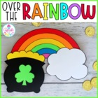 over the rainbow {a st. patrick's day craftivity}
