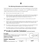 pi and the calculator NYS 7th Grade Math