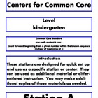 quick station center kindergarten common core k.cc.a.2