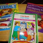 set of 3: Literacy, I Can Read, I Can Write & Teach Beginn