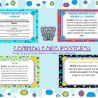 seventh grade common core posters (all standards- ela and math)