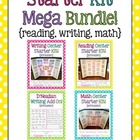 starter kit mega bundle! {reading, writing, math}