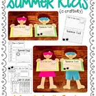 summer kids {a craftivity}