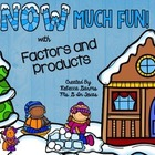 ** FREE** Snow Much Fun with Factors and Products