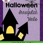 {{FREEBIE}} Halloween Irregular Verbs