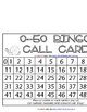 0-50 Snail Bingo Games - 5 pages