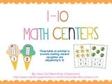 1-10 Math Centers