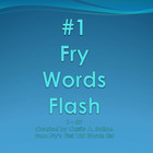 #1 Fry Words Flash PowerPoint Slideshow SMARTBoard