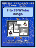 1 to 20 Winter Bingo