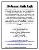 10-Frame Math Pack