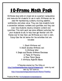 10-Frame Math Pack