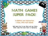10 Math Games Super Pack (Addition and Subtraction)