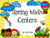 10 Spring Math Centers